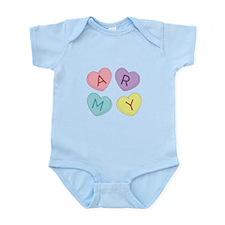 Army Sweettarts Infant Bodysuit