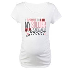 I Promise to Love my Soldier Shirt