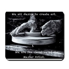 Children of the Master Artist Mousepad