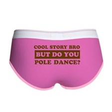 Cool Pole Dance designs Women's Boy Brief
