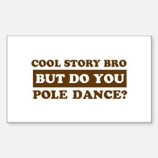 Cool Pole Dance designs Decal