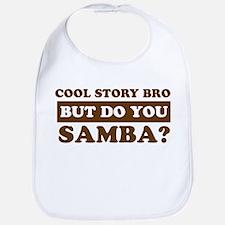 Cool Samba designs Bib