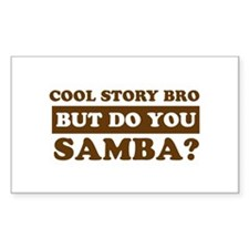 Cool Samba designs Decal