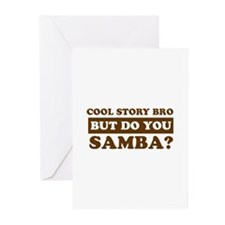 Cool Samba designs Greeting Cards (Pk of 10)