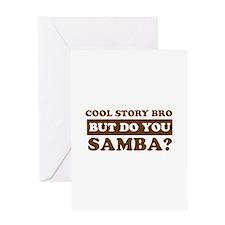 Cool Samba designs Greeting Card