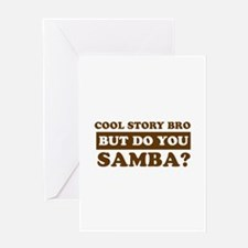Cool Samba designs Greeting Card