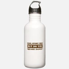 Cool Square Dance designs Water Bottle