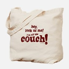 Off The Couch... Tote Bag