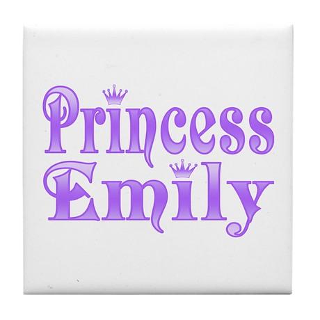 """Princess Emily"" Tile Coaster"