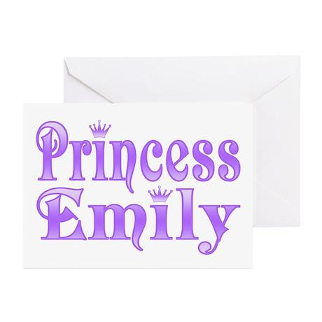 """Princess Emily"" Greeting Cards (Pk of 10)"
