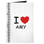 I love Amy Journal