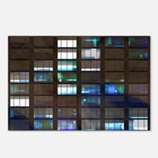 Skyscraper by Night Postcards (Package of 8)