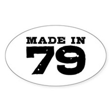 Made In 79 Decal