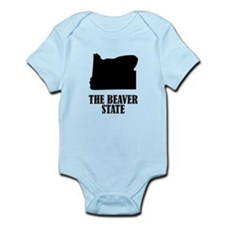 Oregon The Beaver State Body Suit