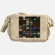 Skyscraper by Night Messenger Bag