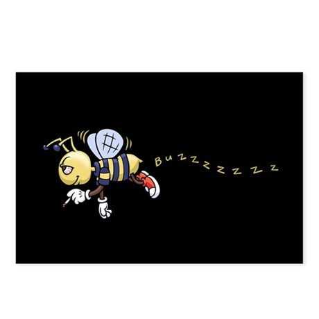 Buzz Bee Postcards (Package of 8)