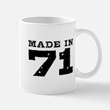 Made In 71 Mug