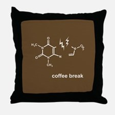 Coffee Break! Throw Pillow