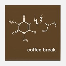 Coffee Break! Tile Coaster