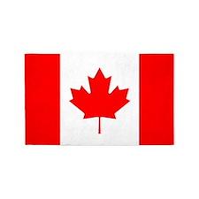 Canada Flag 3'x5' Area Rug