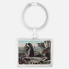 Gargoyles Landscape Keychain