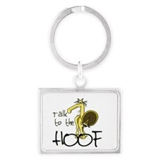 Talk to the Hoof Keychain
