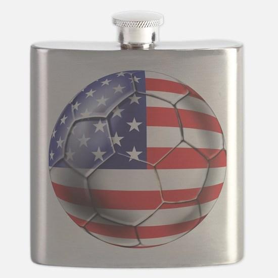USA Soccer Ball Flask