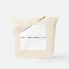 Sudo Make_Sandwich Tote Bag