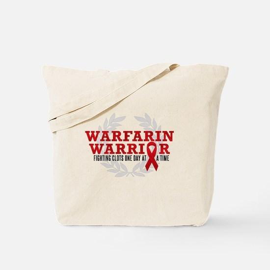 Warfarin Warrior Tote Bag