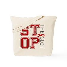 Stop the Clot Tote Bag