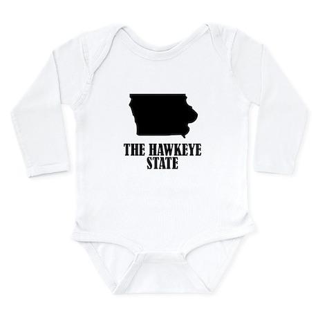 Iowa The Hawkeye State Body Suit