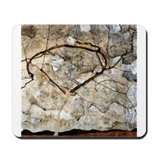 Autumn Tree in Movement by Egon Schiele Mousepad
