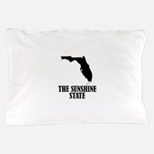 Florida The Sunshine State Pillow Case