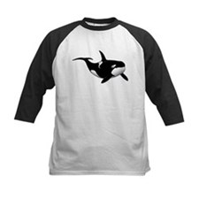 Black Whale Baseball Jersey