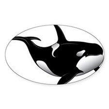 Black Whale Decal