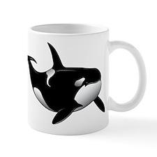 Black Whale Mug