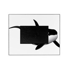 Black Whale Picture Frame