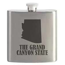 Arizona The Grand Canyon State Flask