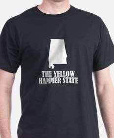 Alabama The Yellow Hammer State T-Shirt
