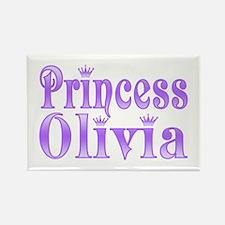 """Princess Olivia"" Rectangle Magnet"