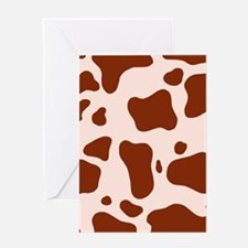 'Brown Cow' Greeting Card