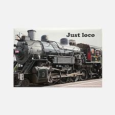 Just loco: steam train engine, Arizona, USA 2 Rect