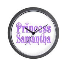 """Princess Samantha"" Wall Clock"
