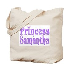 """Princess Samantha"" Tote Bag"