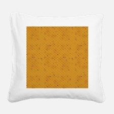 Wheres My Honey Square Canvas Pillow