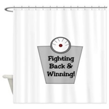 FIGHTING BACK AND WINNING Shower Curtain
