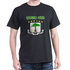 Equatorial Guinea Coat Of Arms Designs T-Shirt