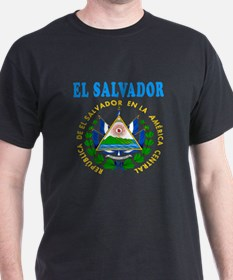 El Salvador Coat Of Arms Designs T-Shirt