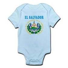 El Salvador Coat Of Arms Designs Onesie