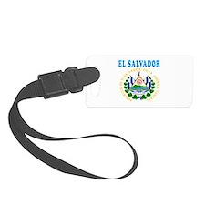 El Salvador Coat Of Arms Designs Luggage Tag